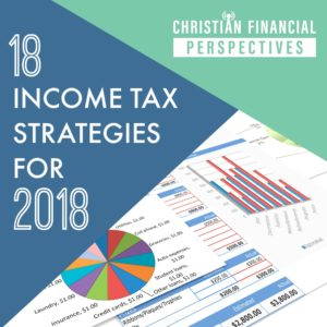 18 Income Tax Strategies for 2018