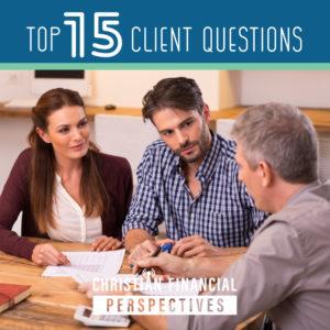 Top 15 Client Questions