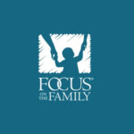 Focus On The Family Logo of child holding mom and dad's hands