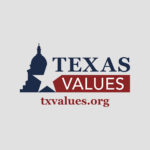 Texas Values Logo with website txvalues.org