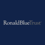 Ronald Blue Trust logo on dark background