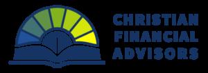 Christian Financial Advisors horizontal logo on transparent background